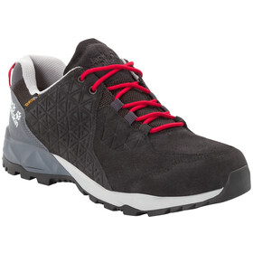 Jack Wolfskin Cascade Hike LT Texapore Low Schuhe Herren black/red